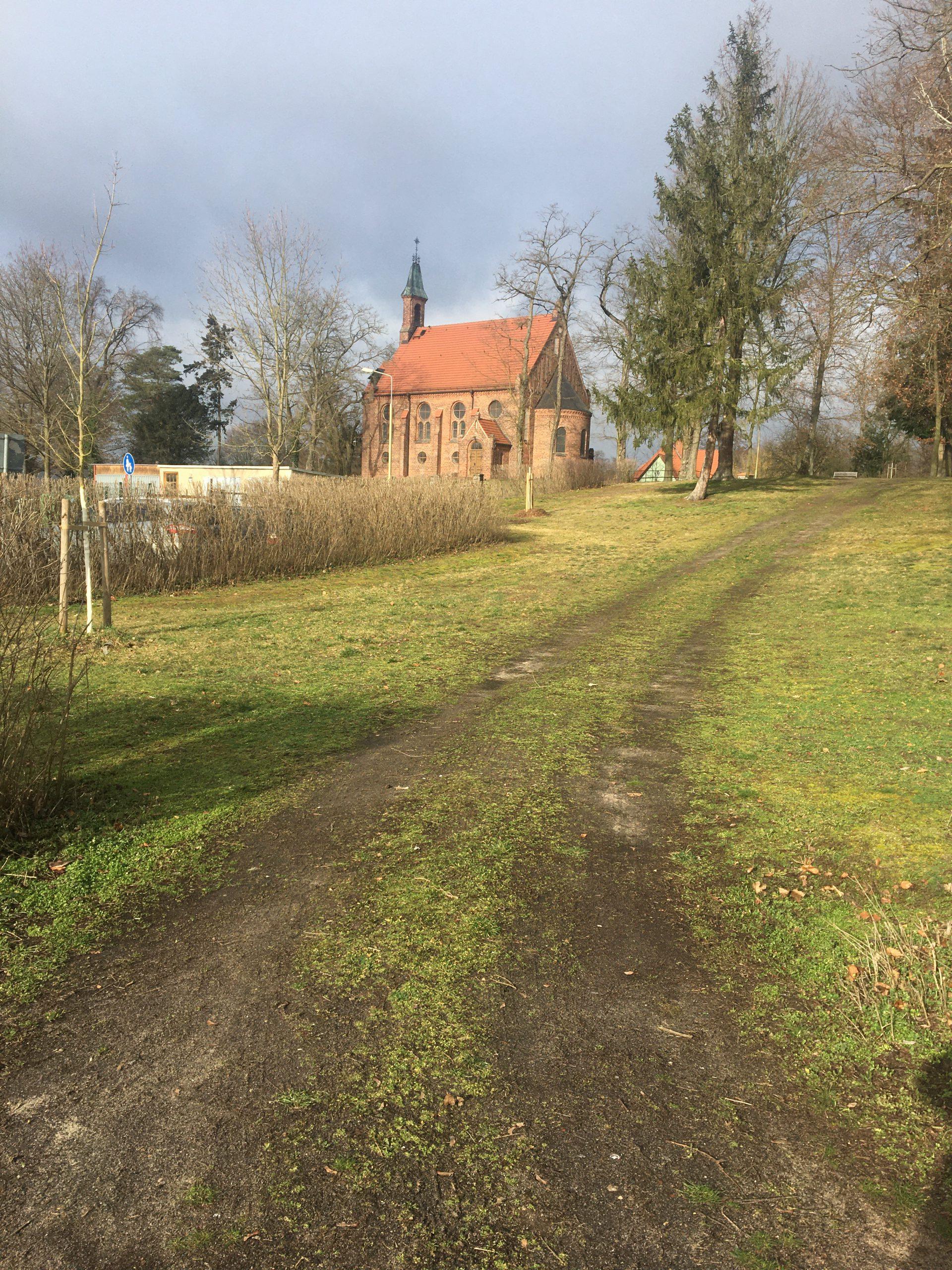 Wanderung Brandenburg Grünheide Kirche
