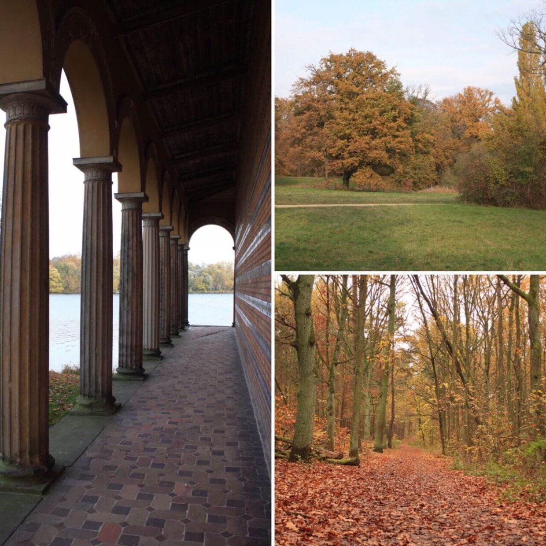 Wanderziele bei Sacrow, Heilandskirche, Schlosspark und Königswald
